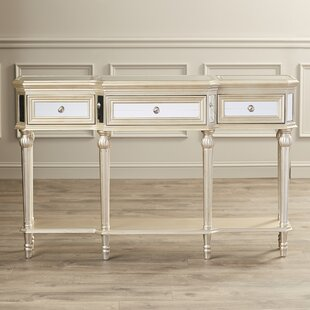 Review Poston 3 Drawer Console Table By Willa Arlo Interiors