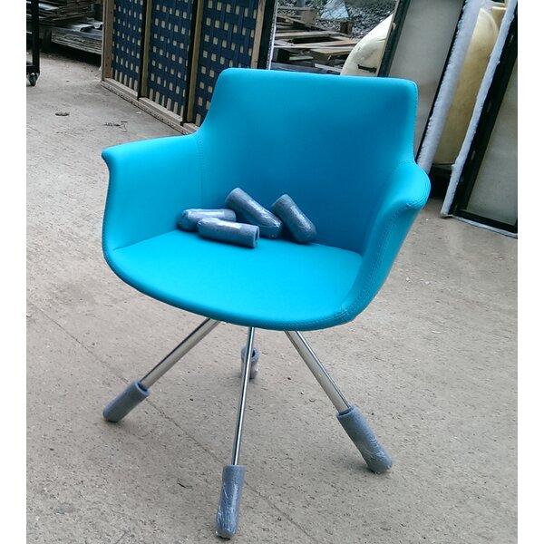 Oakden Swivel Armchair by Brayden Studio
