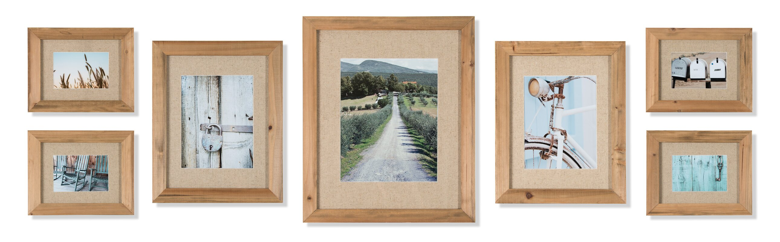 Sharleen 7 Piece Gallery Picture Frame Set Amp Reviews