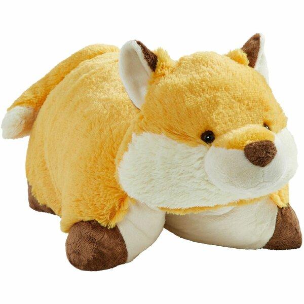 Wild Fox Plush Chenille Throw Pillow by Pillow Pets