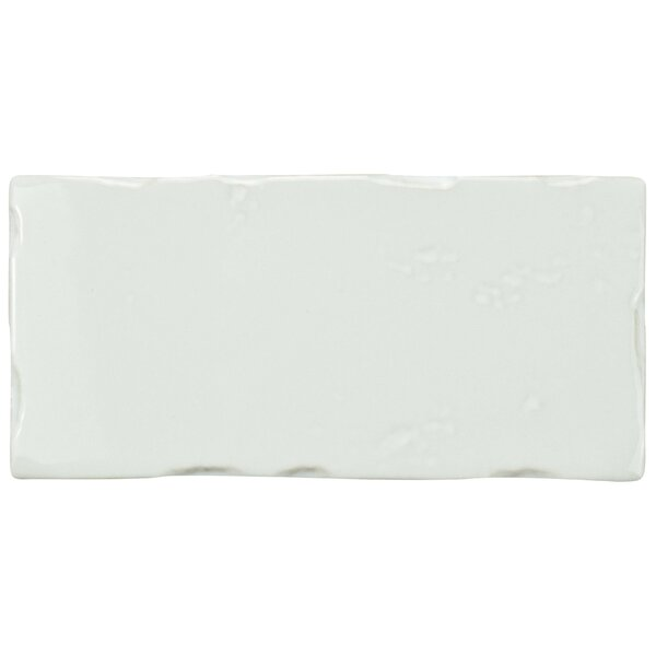 Frisia Subway 2.5 x 5.13 Ceramic Subway Tile in White by EliteTile