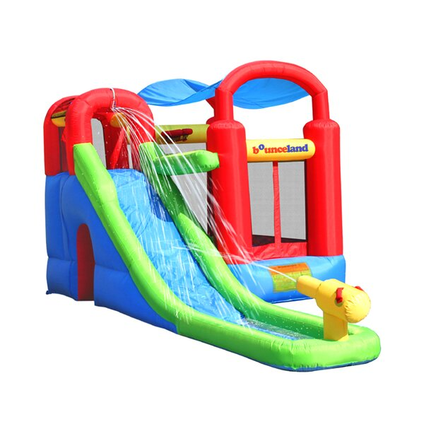 Water Slide with Playstation Bounce House by Bounceland