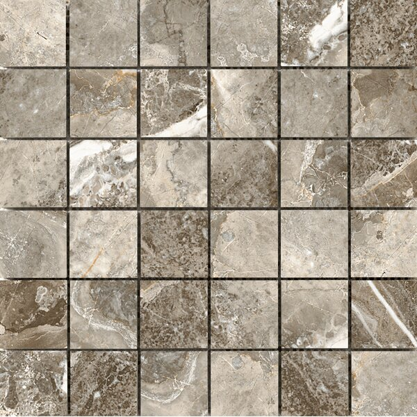 Vienna 2 x 2 Porcelain Mosaic Tile in Mozzart by Emser Tile