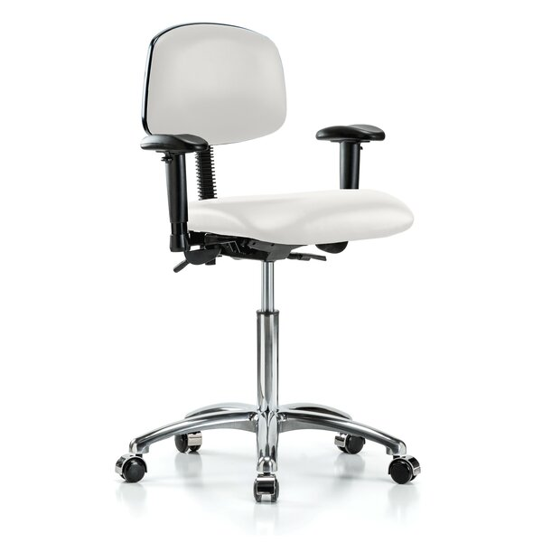 Multi-Task Low-Back Desk Chair by Perch Chairs & Stools