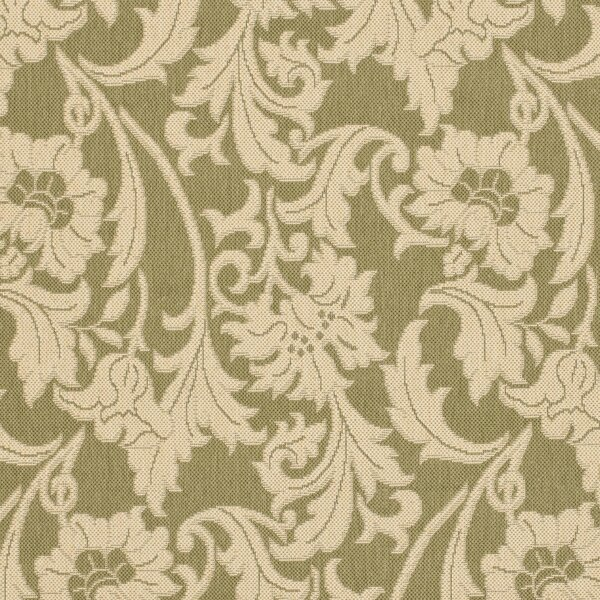 Herefordshire Olive/Creme Indoor/Outdoor Area Rug by Winston Porter