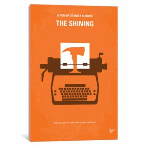 'The Shining Minimal Movie Poster' Vintage Advertisement on Wrapped Canvas by East Urban Home