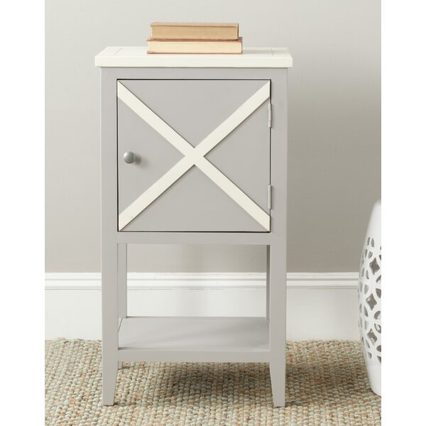 Falconer End Table by Highland Dunes