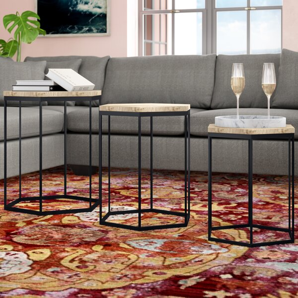 Stromberg 3 Piece Nesting Tables by Wrought Studio