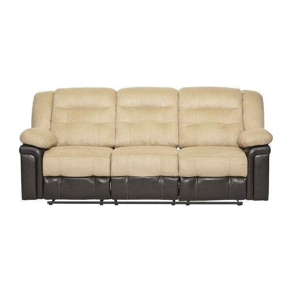 Serta Upholstery Double Reclining Sofa by Serta Upholstery