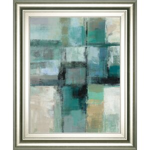 'Island Hues Crop 1' Framed Painting Print by Mercury Row