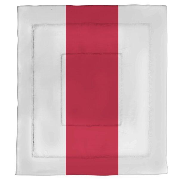Detroit Hockey Single Reversible Comforter