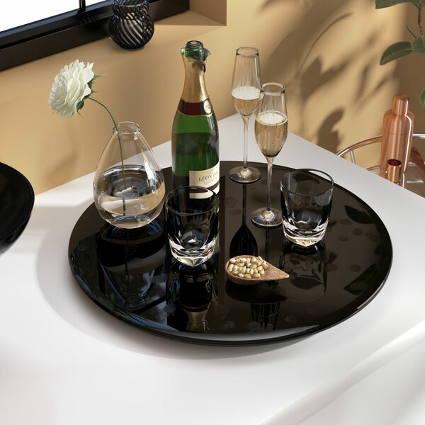 Knepp Rotating Tray Lazy Susan by Orren Ellis