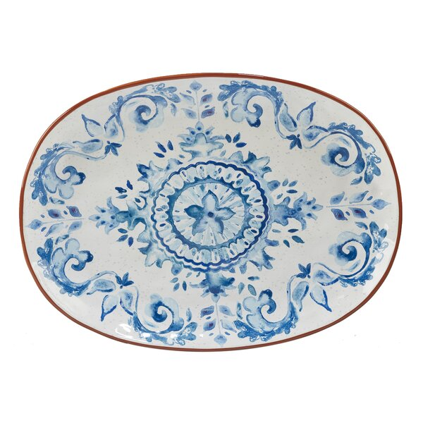 Yasmine Oval Platter by Mistana