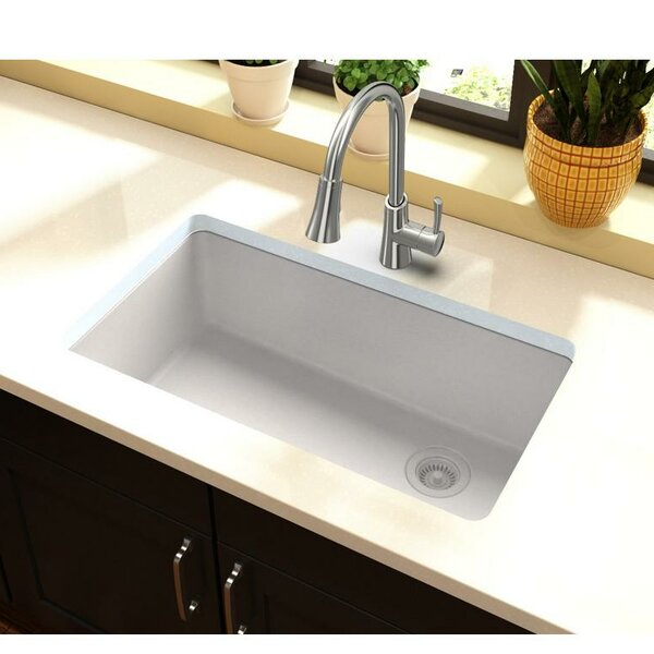 Quartz Classic 33 L x 19 W Undermount Kitchen Sink by Elkay