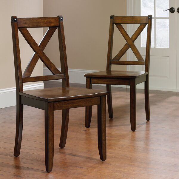Best #1 Chappel Solid Wood Dining Chair (Set Of 2) By Trent Austin Design Design