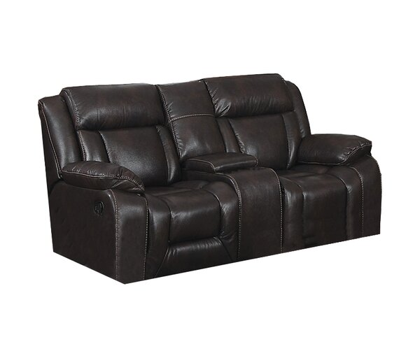 Aisling Recliner Loveseat with Storage Console by Red Barrel Studio