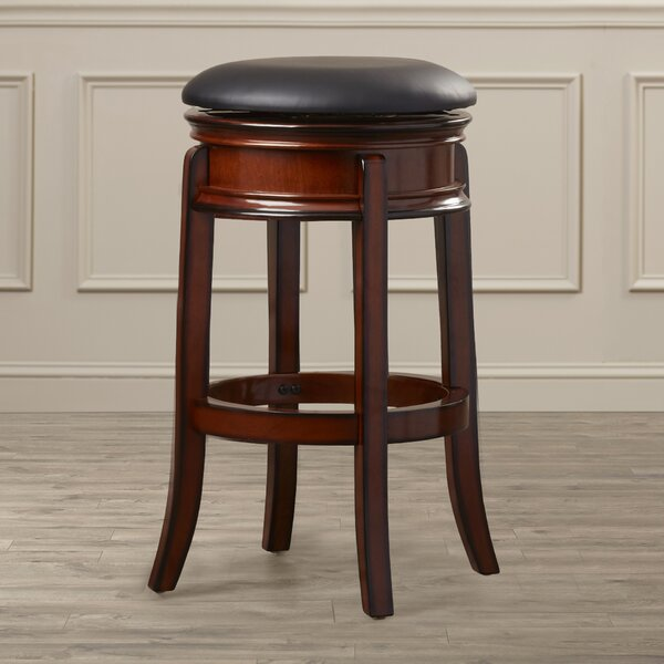 Shenandoah 29 Swivel Bar Stool by Three Posts