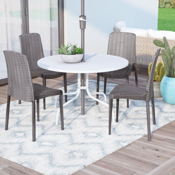 Loggins Stacking Patio Dining Chair (Set Of 2) By Brayden Studio by Brayden Studio Purchase