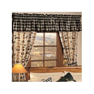 Northern Exposure Cotton Blend Curtain Valance
