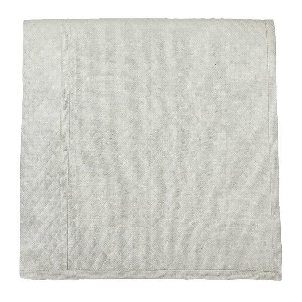 Silk Basketweave Single Coverlet
