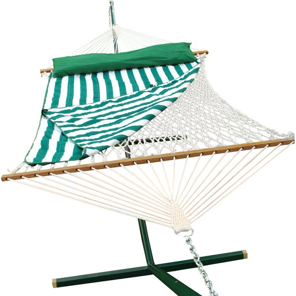 Cotton Rope Hammock by Algoma Net Company