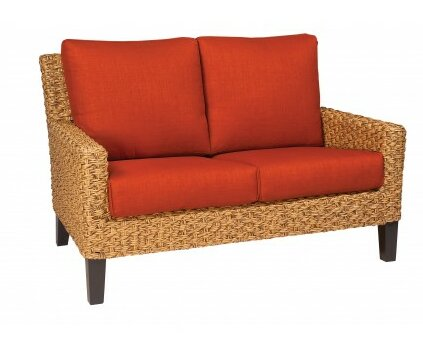 Mona Loveseat with Cushions by Woodard