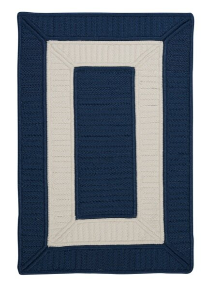 Kenton Blue Indoor/Outdoor Area Rug by Breakwater Bay