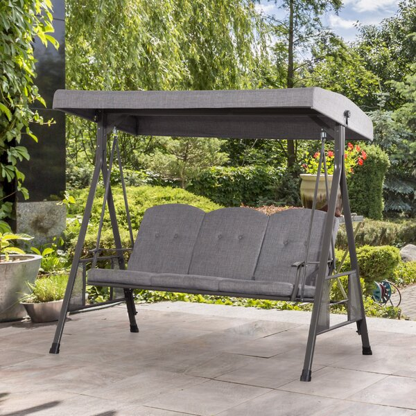 Knaresborough Patio Swing with Stand by Freeport Park Freeport Park