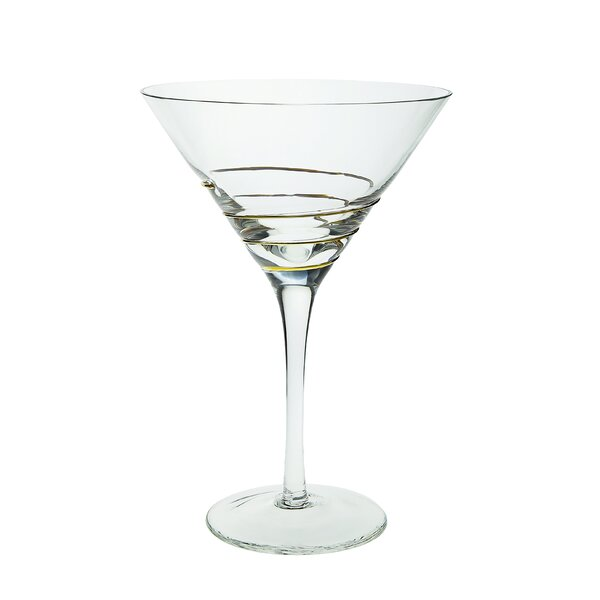 Gries Martini Glass Cocktail Glass (Set of 4) by Orren Ellis