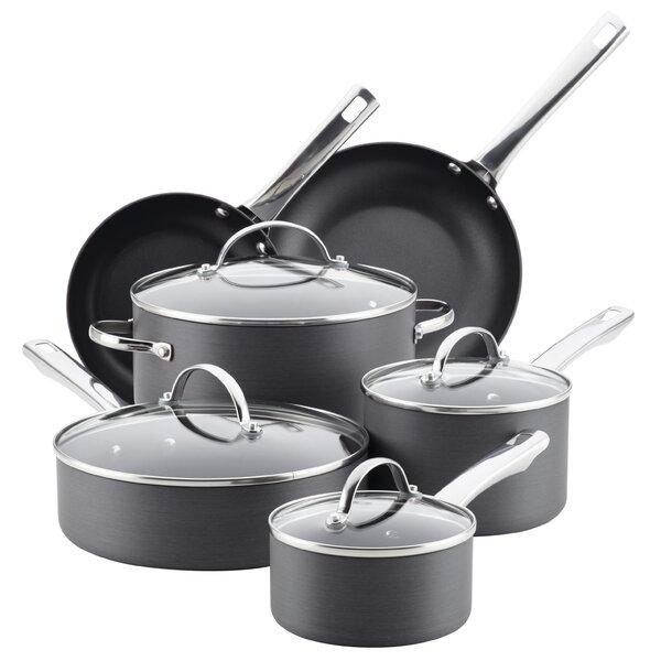 14 Piece Non-Stick Cookware Set by Farberware