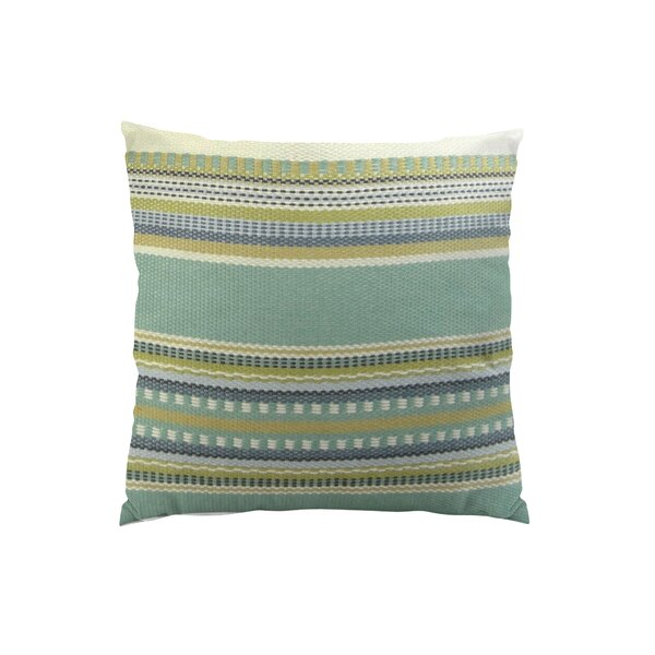 Chic Stripe Handmade Throw Pillow by Plutus Brands