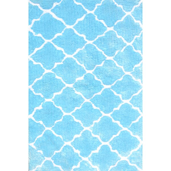 Handmade Blue Area Rug by Park Avenue Rugs