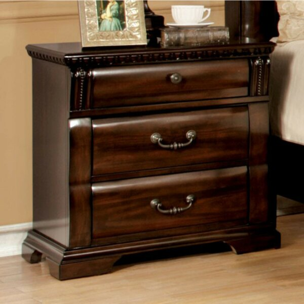 Grisel 3 Drawer Nightstand by Darby Home Co