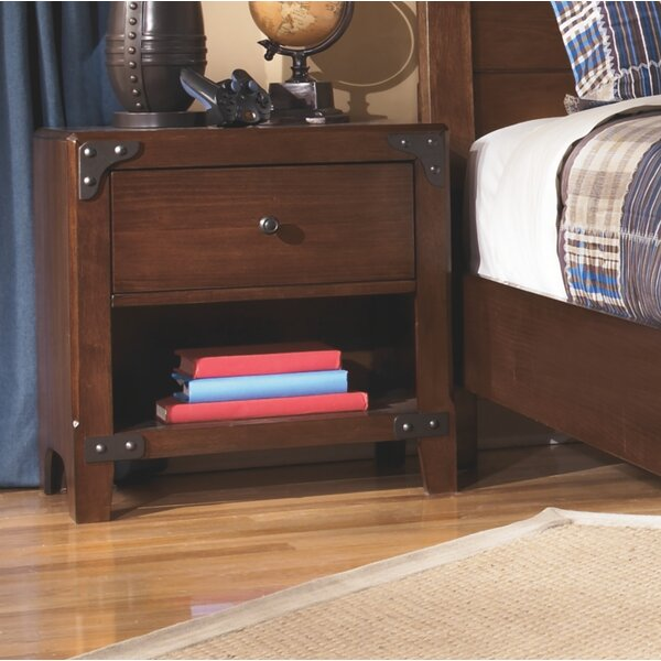 Mogensen 1 Drawer Night Stand by Williston Forge