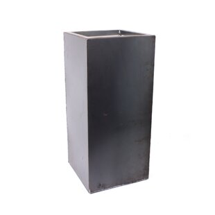 Metallic Series Pedestal Corten Steel Pot Planter