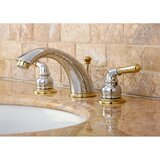 Magellan Widespread Bathroom Faucet with ABS Pop-Up Drain by Kingston Brass