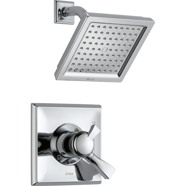 Dryden™ Shower Faucet with H2Okinetic Technology by Delta
