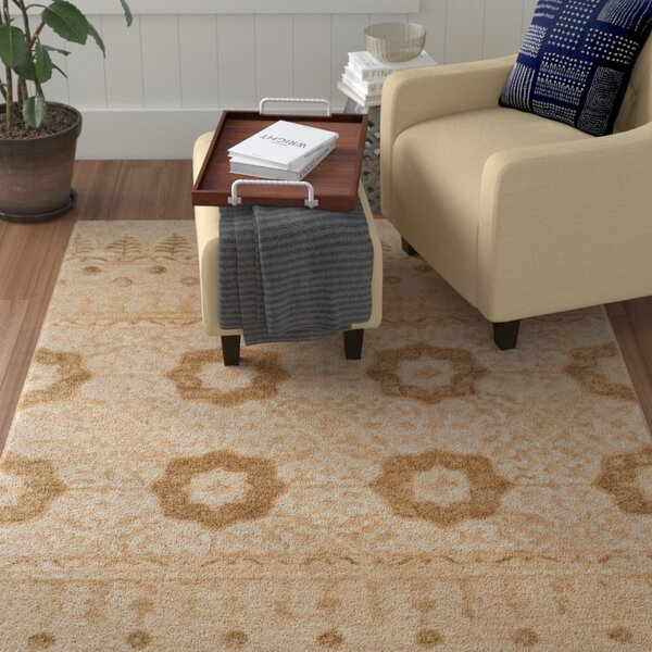 Troupsburg Hand-Tufted Ivory Area Rug by Red Barrel Studio