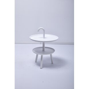 Inexpensive Chamorro Top Side Table ByWrought Studio