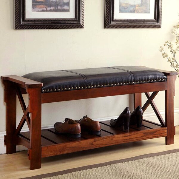Emberton Upholstered Storage Bench by Astoria Grand Astoria Grand