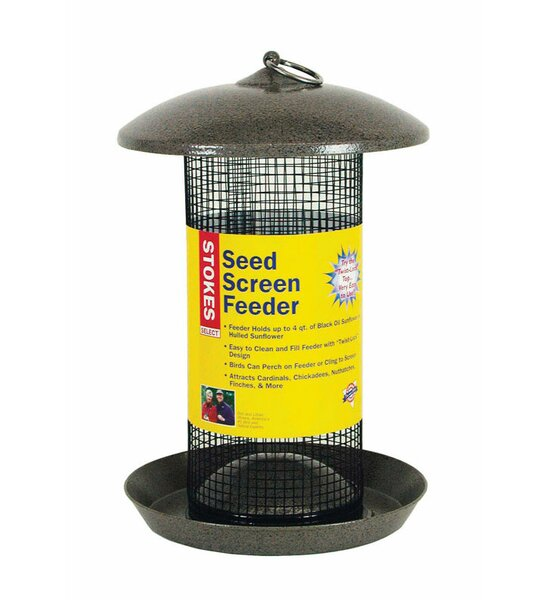 Seed Screen Nyjer/Thistle Feeder by Stokes Select