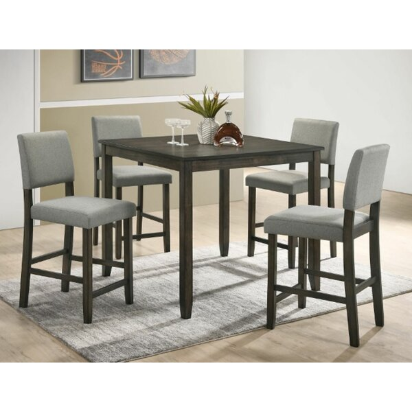 Arshag 5 Piece Counter Height Dining Set By Gracie Oaks