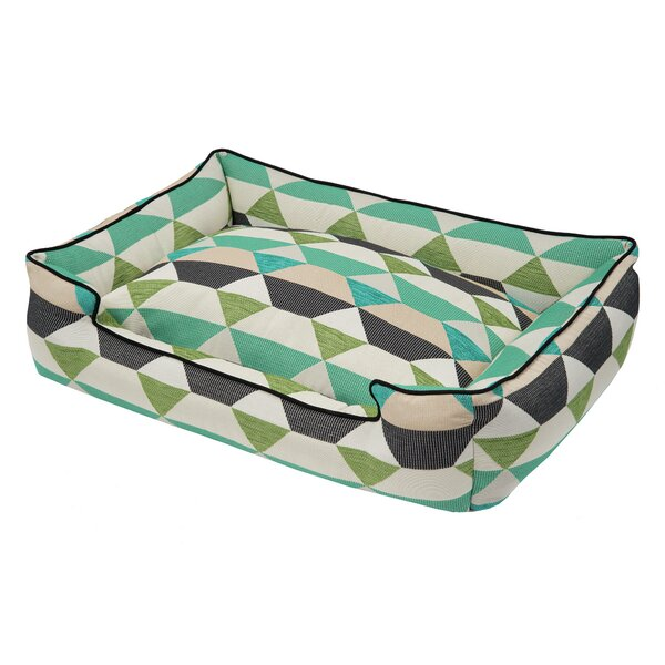 Origami Bolster Pet Bed by Jax & Bones