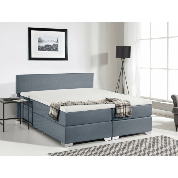 Gaskill Upholstered Platform Bed With Mattress by Brayden Studio