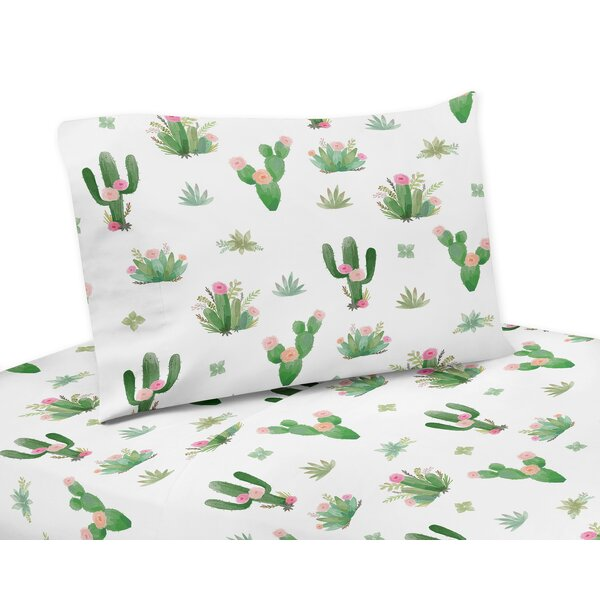Cactus Floral Sheet Set by Sweet Jojo Designs