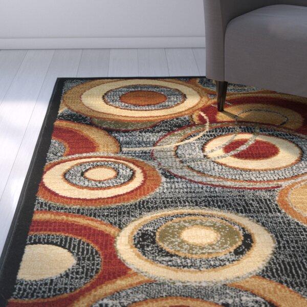 Chani Gray Area Rug by Ebern Designs