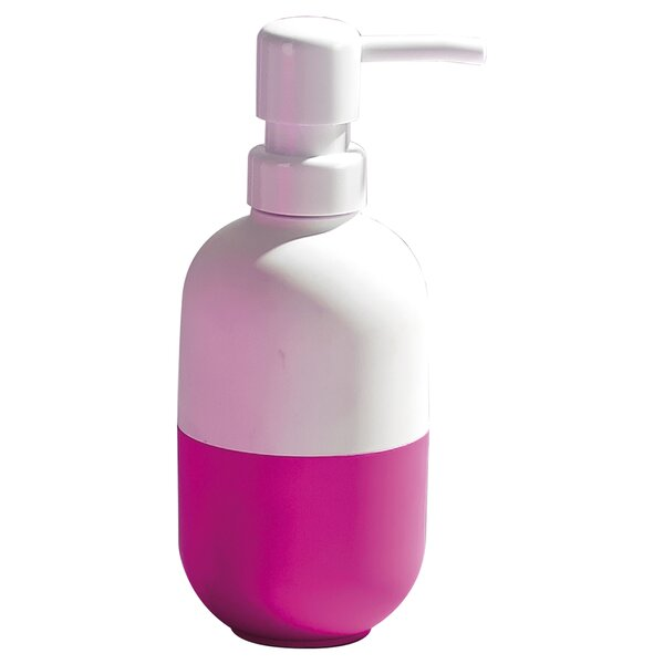 Soft Velvet Touch Bathroom Soap Dispenser by Evideco