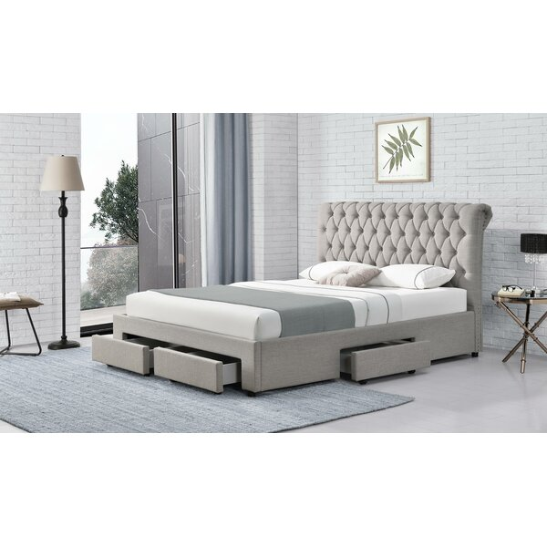 Darabont Tufted Upholstered Low Profile Storage Bed By Red Barrel Studio