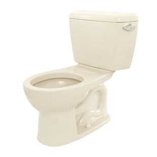 Drake 1.6 GPF Round Two-Piece Toilet (Seat Not Included) ByToto