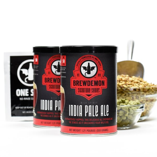2 Gal Wild Spirit IPA Refill Kit by BrewDemon